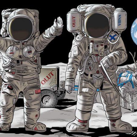 тантамареска космонафты для мероприятия